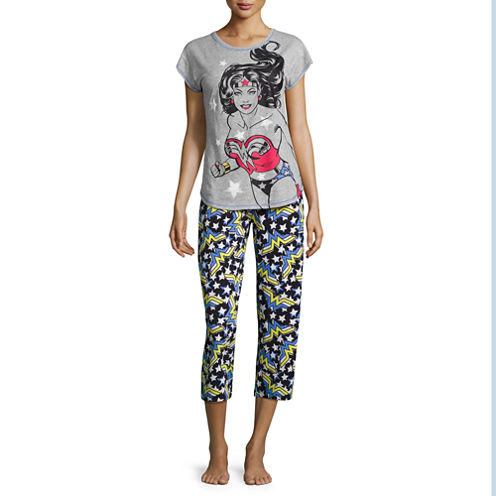 DC Comics Wonder Woman Pajama Set