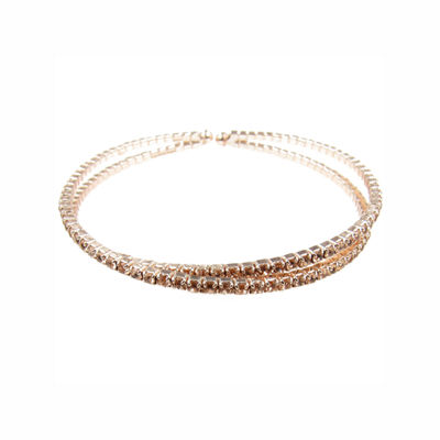 Vieste Rosa Womens Brass Bangle Bracelet