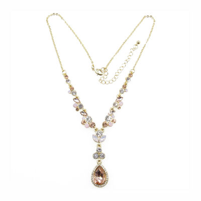 Vieste Rosa Womens Pink Y Necklace