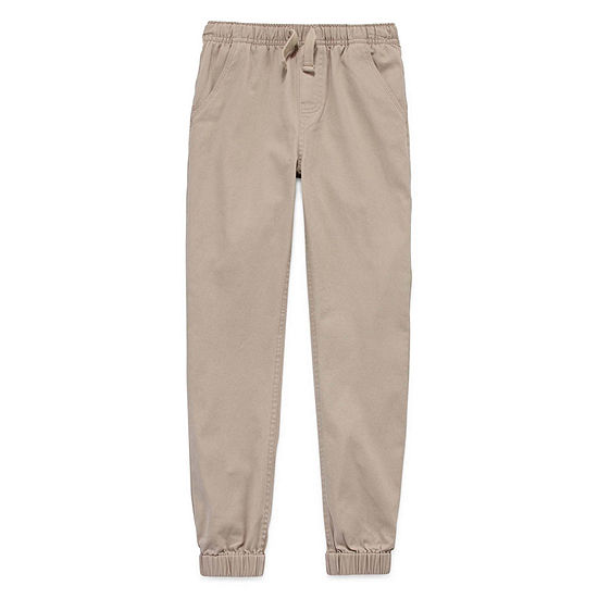 Izod Exclusive Boys Mid Rise Cinched Jogger Pant - Big Kid
