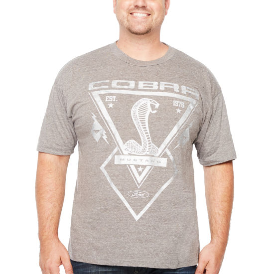 Short Sleeve Automotive Graphic T-Shirt-Big and Tall