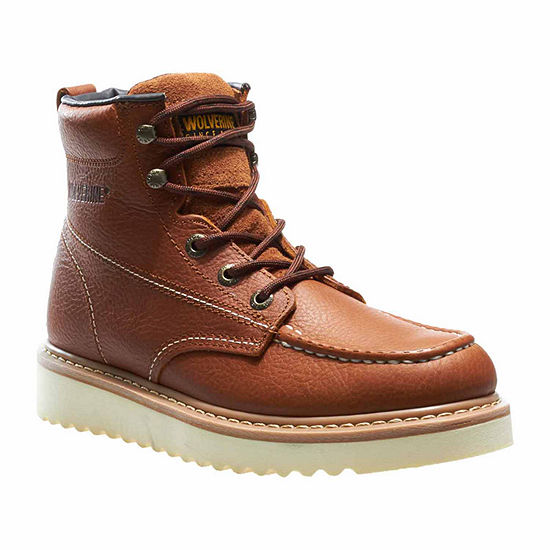 bcf0520a8 Wolverine Work Wedge Mens Work Boots JCPenney