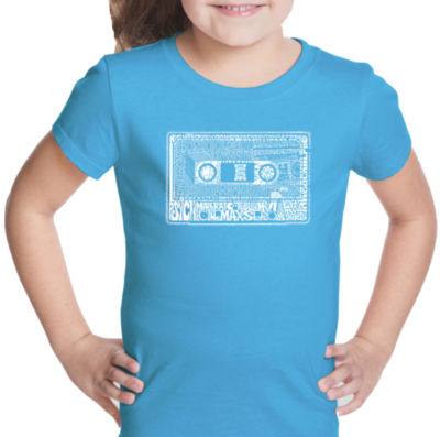 Los Angeles Pop Art The 80'S Short Sleeve Graphic T-Shirt Girls