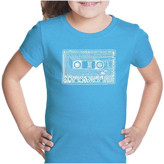 dbfa813d Los Angeles Pop Art The 80'S Short Sleeve Graphic T-Shirt Girls - JCPenney