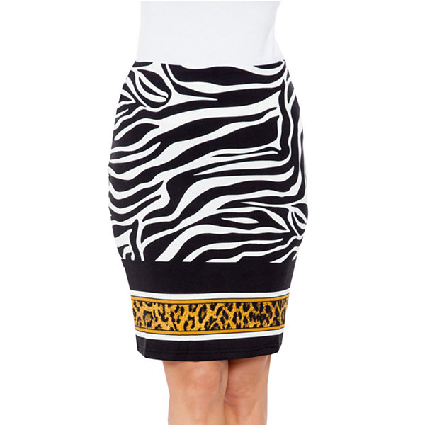 White Mark Stretchy Material Pencil Skirt White Mark Clearance Choice Classic TVGFdVfh