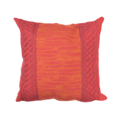 Liora Manne Visions Ii Celtic Stripe Square Outdoor Pillow