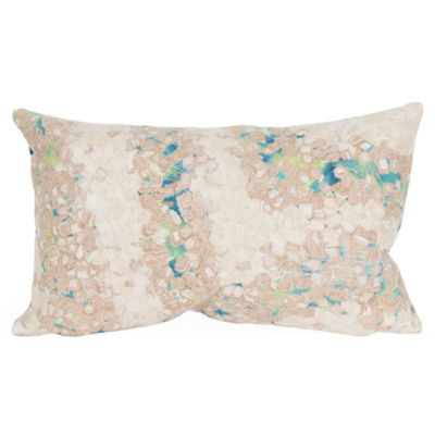 Liora Manne Visions Iii Elements Rectangular Outdoor Pillow