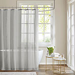 Madison Park Lydia Sheer Shower Curtain