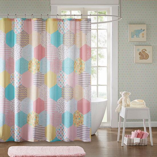 Evie Cotton Shower Curtain