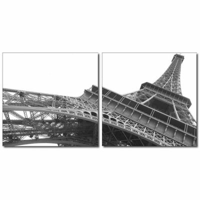 Sculptural Majesty Mounted  2-pc. Photography Print Diptych Set