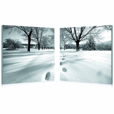 Telltale Trail Mounted  2-pc. Photography Print Diptych Set