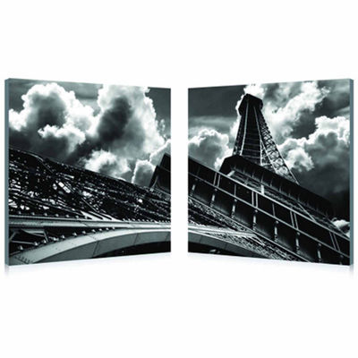 Touch the Clouds Mounted  2-pc. Photography PrintDiptych Set