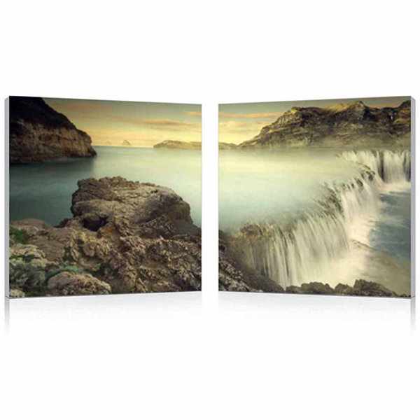 Unbridled Power Mounted  2-pc. Photography Print Diptych Set