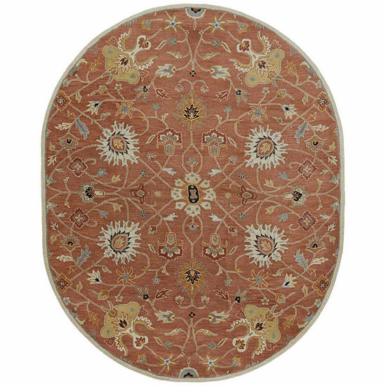Decor 140 Albi Hand Tufted Oval Indoor Rugs