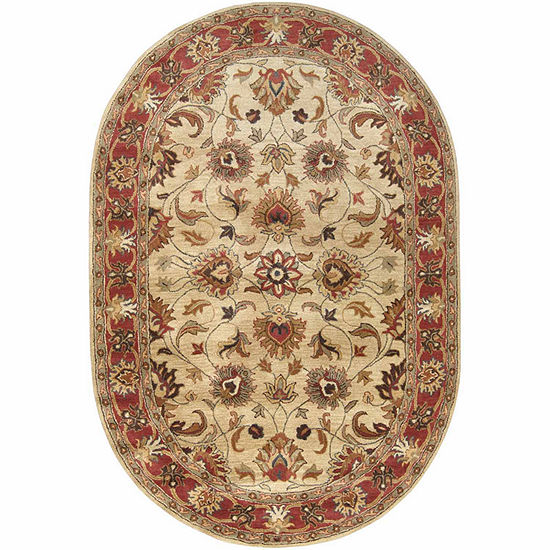 Decor 140 Adley Hand Tufted Oval Indoor Rugs