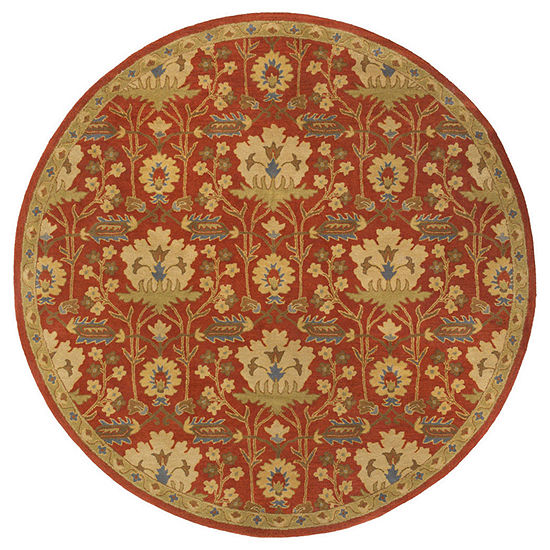 Decor 140 Maximian Hand Tufted Round Indoor Rugs