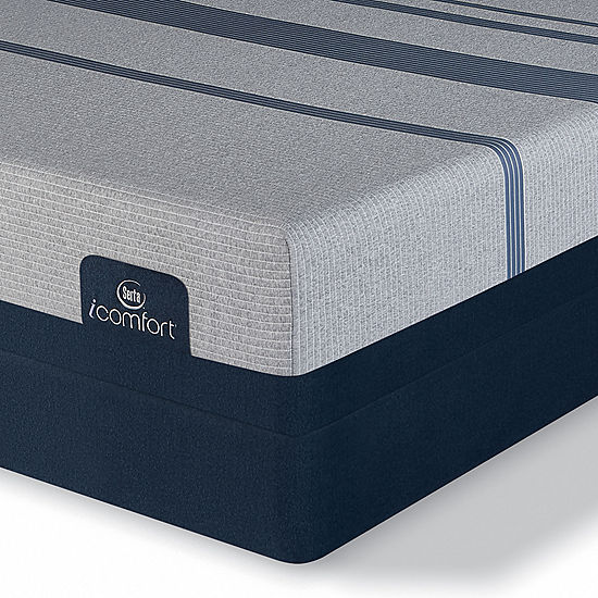 Serta Icomfort Blue Max 1000 Plush Mattress Box Spring Jcpenney