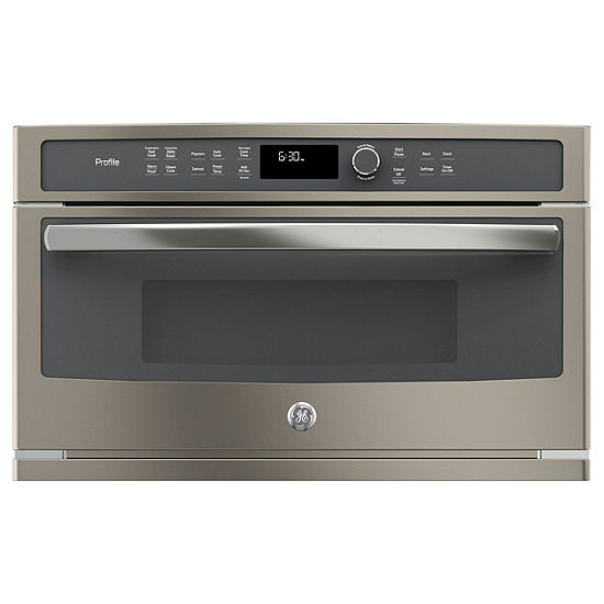 Ge Profile Series 1 7 Cu Ft Built In Microwave Convection Oven