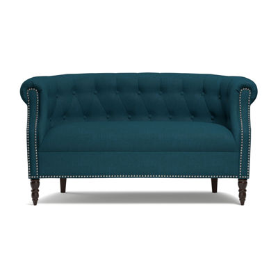 Chesterfield Button Tufted Loveseat