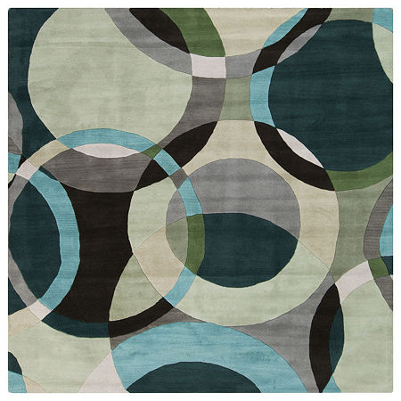 Decor 140 Gavar Hand Tufted Square Indoor Rugs, One Size , Gray