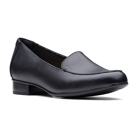 Clarks Womens Juliet Lora Slip-On Shoe Closed Toe