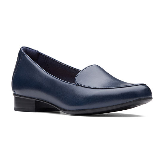 Clarks Womens Juliet Lora Slip-On Shoe Round Toe