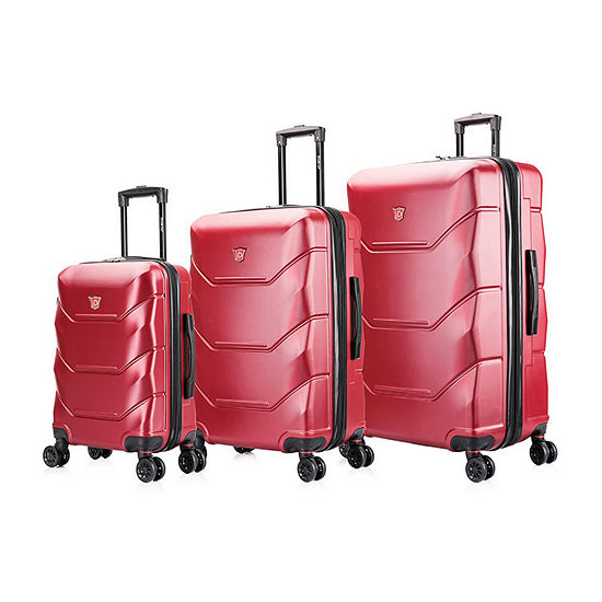 DUKAP Zonix Hardside 3-Pc Luggage Set