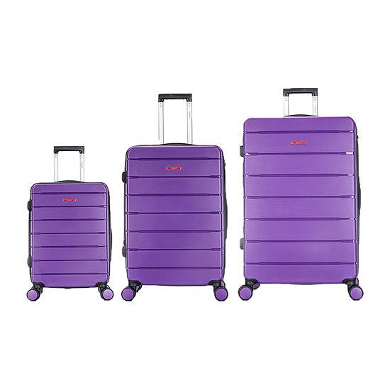 Dukap Definity Hardside 3 Pc Lugage Set