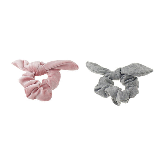 Mixit Scrunchie Bow 2-pc. Hair Ties