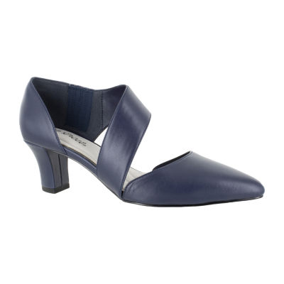 Easy Street Womens Dashing Pumps Slip-on Pointed Toe Spike Heel