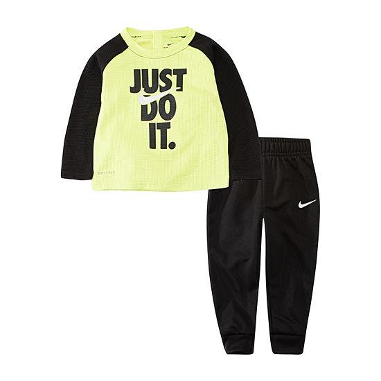 Nike Dri-Fit Toddler Boys 2-pc. Pant Set
