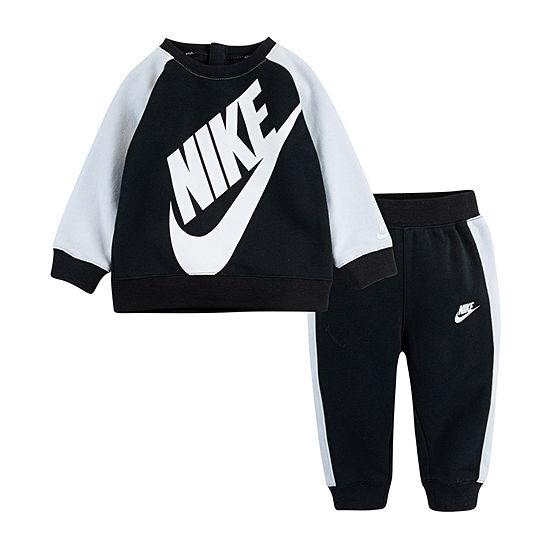 Nike Dri-Fit Boys 2-pc. Logo Pant Set Toddler