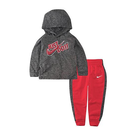 Nike Dri Fit Boys 2-pc. Pant Set Toddler