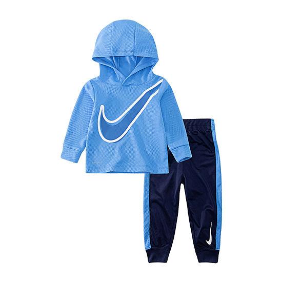 Nike Dri Fit Boys 2-pc. Logo Pant Set Toddler