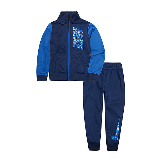 Nike Colorblock Boys 2-pc. Logo Pant Set Toddler
