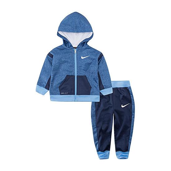 Nike Therma Boys 2-pc. Logo Pant Set Toddler