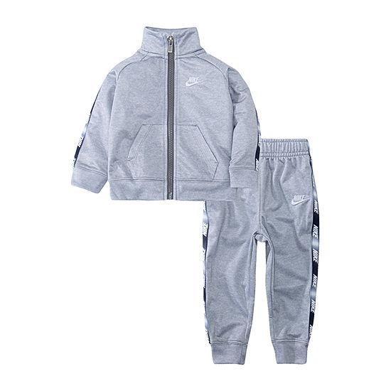 Nike Logo Taping Boys 2-pc. Logo Pant Set Toddler