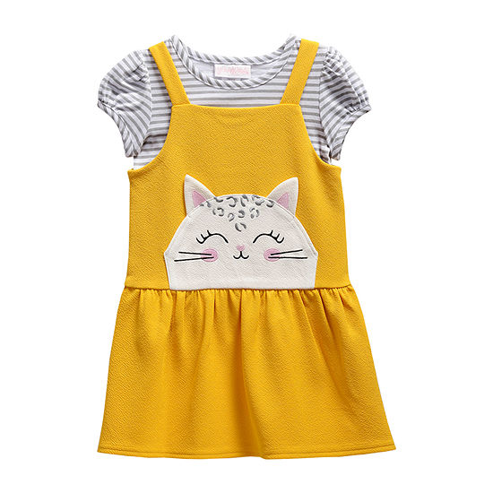 Young Land Girls Sleeveless Jumper - Toddler