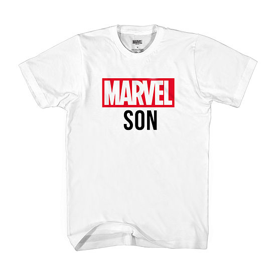 Mens Marvel Son Graphic T-Shirt- Adult Sizes