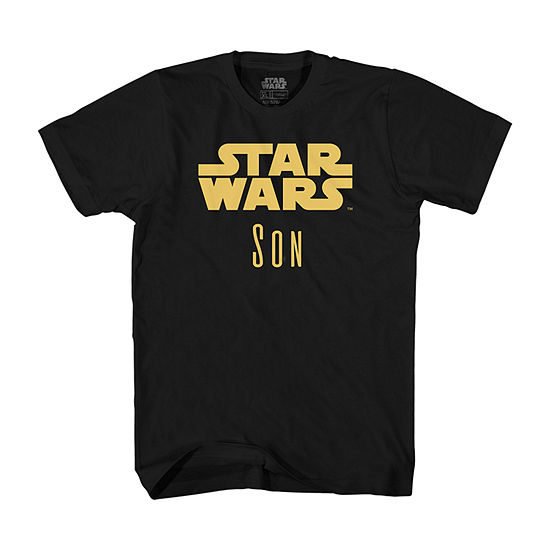 Mens Star Wars Son Graphic T-Shirt- Adult Sizes