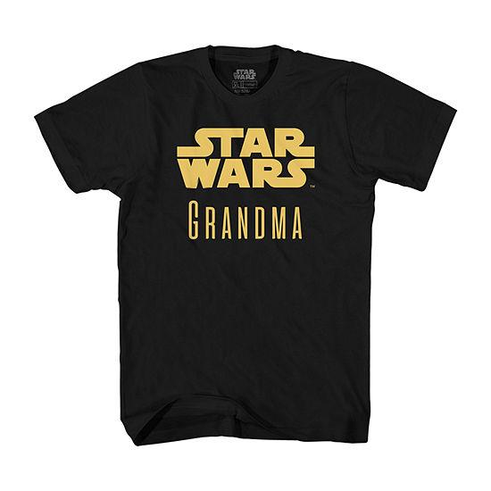 Mens Star Wars Grandma Graphic T-Shirt