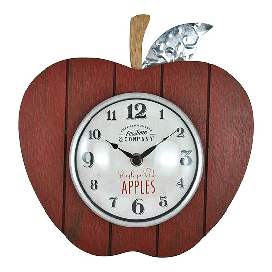 Firstime Apple Orchard Wall Clock
