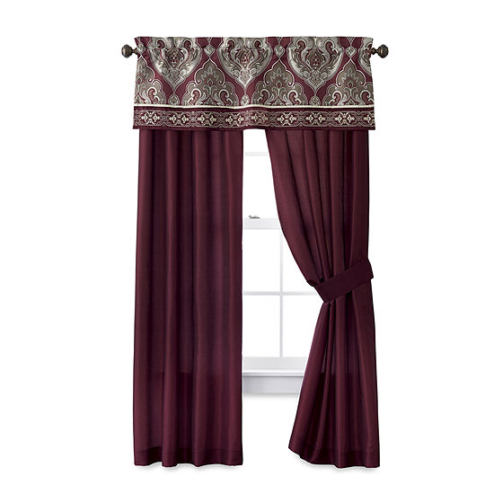 JCPenney Home Carson Rod-Pocket Curtain Panel