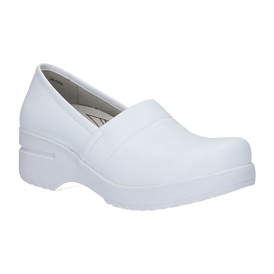 Easy Works By Easy Street Womens Laurie Round Toe Slip-On Shoe