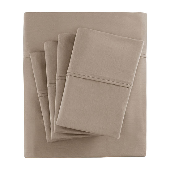 Madison Park 800tc Sateen Easy Care Wrinkle Resistant Sheet Set