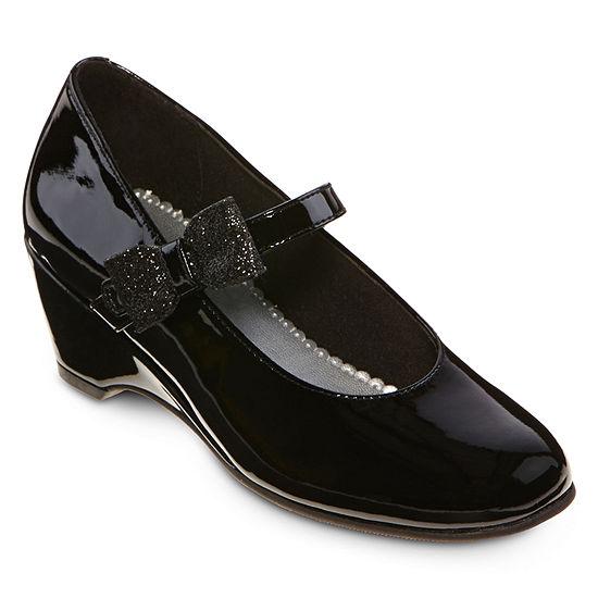 Christie & Jill Kaitlyn Girls Wedge Dress Shoes - Little Kids