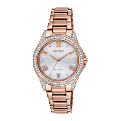 Drive from Citizen® Eco-Drive® Womens Crystal-Accent Watch