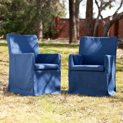 Tulum Set of 2 Outdoor Armchairs