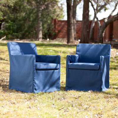 Tulum Set of 2 Outdoor Sofa Chairs