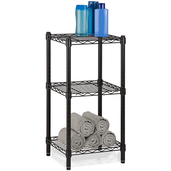 Honey-Can-Do® 3-Tier Wire Shelving Tower